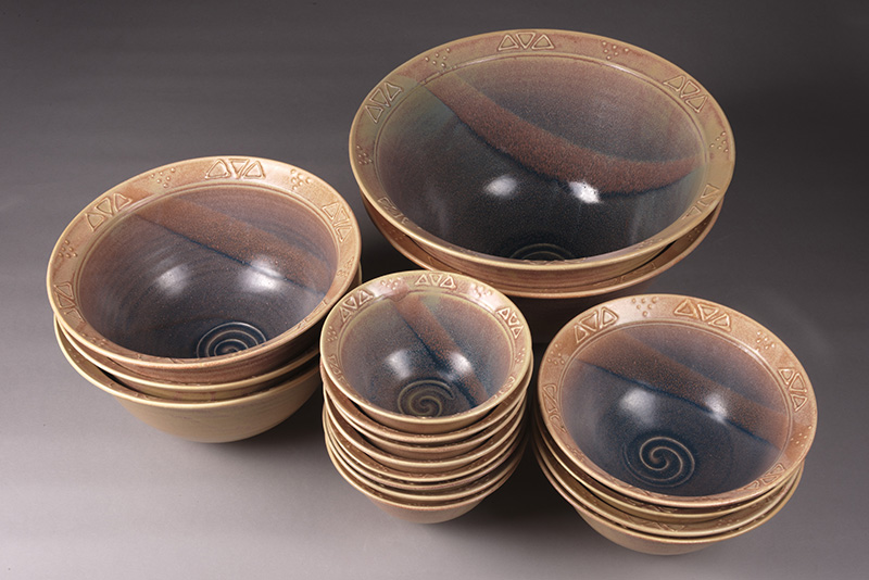 Bowls by Mike Stoy